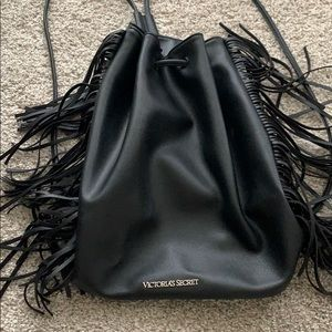 Brand new leather Victoria's Secret backpack